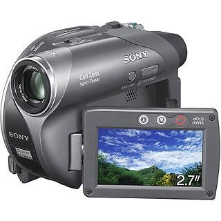Caméscope numérique Sony DCR-DVD205E Sony DCR-DVD205E (Mini DVD-R/RW 8cm)