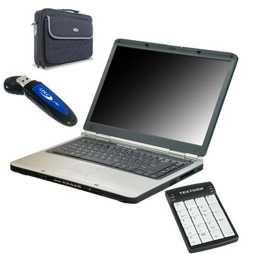 "PC portable LDLC Notebook Media 15.4"" FR LDLC Notebook Media 15.4"" FR - Pentium M 1.73 GHz 1 Go 80 Go 15.4"" TFT Graveur DVD Wi-Fi G (sans OS)"