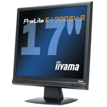 "Ecran PC IIyama ProLite E1700SV-B IIyama 17"" LCD - ProLite E1700SV-B - 8 ms - Noir"