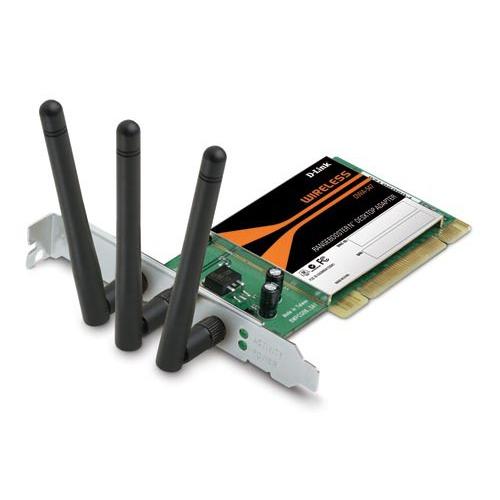 Carte réseau D-Link DWA-547 D-Link DWA-547 - Carte PCI sans fil 802.11n 300 Mbps