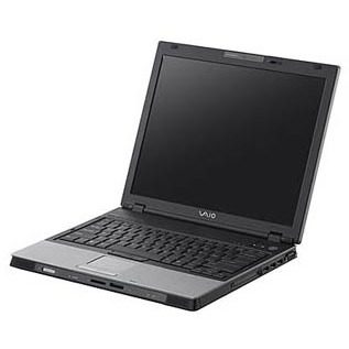 """PC portable Sony VAIO BX296XP Sony VAIO BX296XP - Centrino 1.86 GHz 1 Go 120 Go 15.4"""" TFT DVD(+/-)RW DL Wi-Fi G/Bluetooth Lecteur biométrique WXPP"""