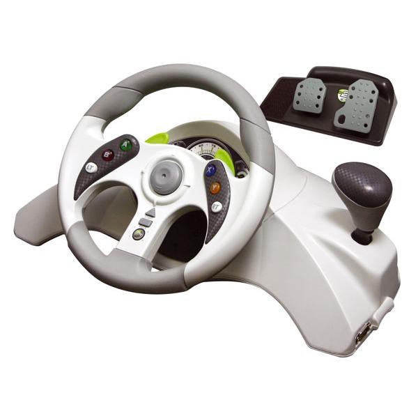 madcatz xbox 360 steering wheel volant pc mad catz sur. Black Bedroom Furniture Sets. Home Design Ideas