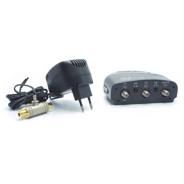 Metronic amplificateur int rieur 2 sorties c ble antenne tv metronic sur - Cable antenne tnt ...