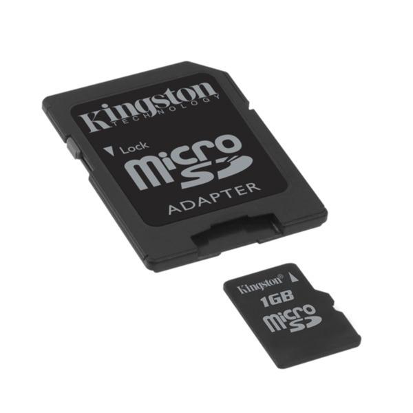 Carte mémoire Kingston SDC/1GB Kingston microSD 1 Go (garantie 10 ans par Kingston)