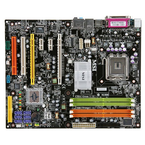 Carte mère MSI P965 Platinum MSI P965 Platinum (Intel P965 Express) - ATX