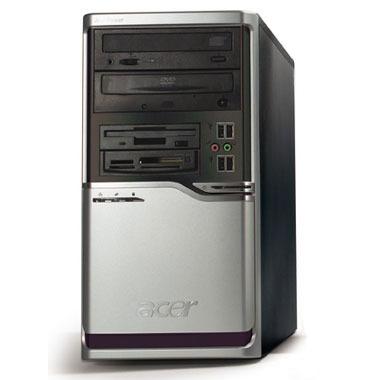 PC de bureau AcerPower F5 PS.PF5C6.F06 AcerPower F5 - Station de travail - Intel Pentium D820 (2.8 GHz) 1 Go 160 Go Combo DVD/CD-RW WXPP