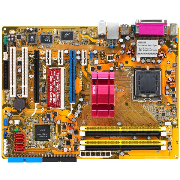 Carte mère ASUS P5NSLI ASUS P5NSLI (NVIDIA nForce 570 SLI Intel Edition) - ATX