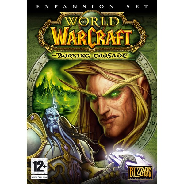 World of warcraft the burning crusade jeux pc blizzard entertainment sur - World of warcraft sur console ...