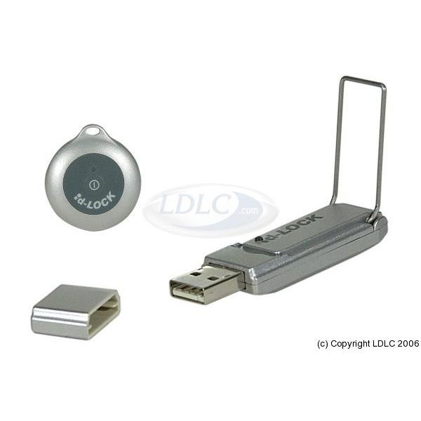 Accessoires PC portable ID-LOCK USB 307890 ID-LOCK USB - antivol à verrouillage automatique
