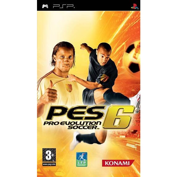 LDLC.com Pro Evolution Soccer 6 Pro Evolution Soccer 6 (PSP)