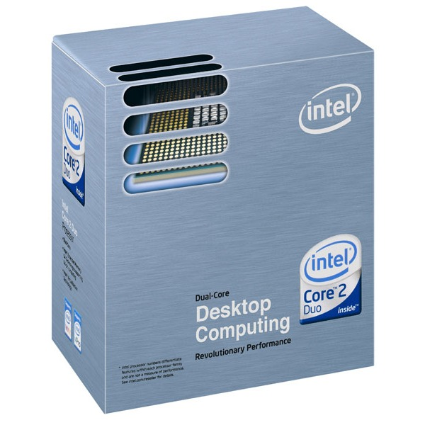 Processeur Intel Core 2 Duo E6600 Intel Core 2 Duo E6600 - Dual Core ! Socket 775 FSB1066 cache L2 4 Mo 0.065 micron (version boîte - garantie Intel 3 ans)