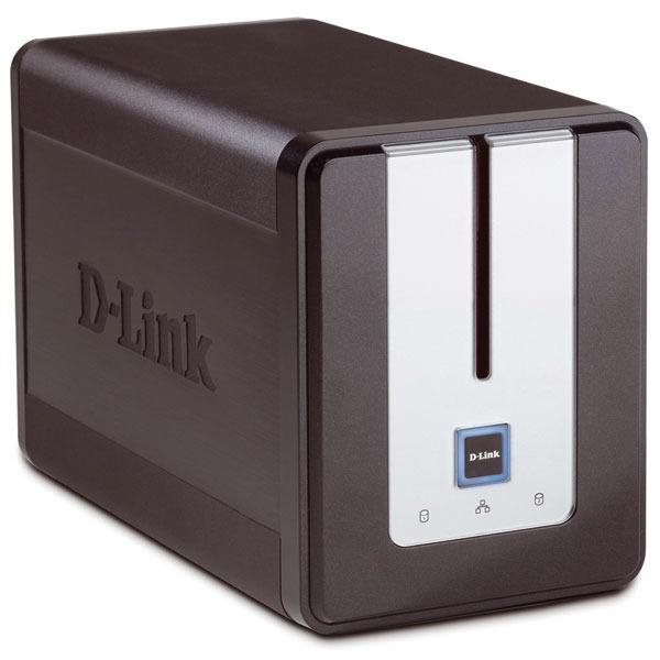 Serveur NAS D-Link DNS-323 D-Link DNS-323 - Serveur de stockage réseau 2 baies (sans disque dur)