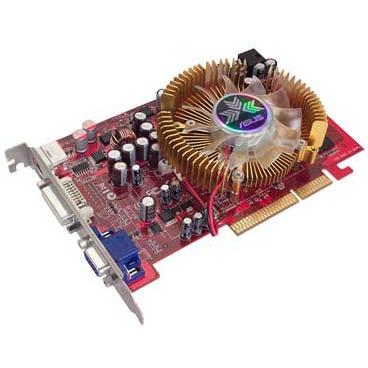 Carte graphique ASUS AX1650PRO/HTD/256M/A ASUS AX1650PRO/HTD/256M/A - 256 Mo TV-Out/DVI - AGP (ATI Radeon X1650 Pro) - (garantie 3 ans)