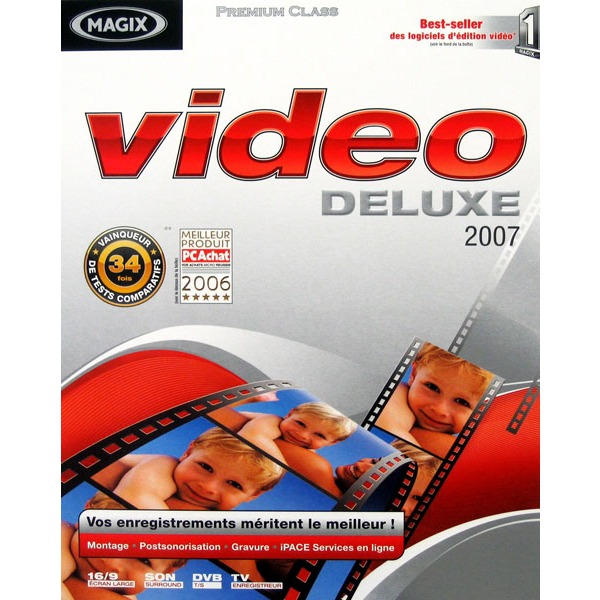 Logiciel composition vidéo MAGIX Video deluxe 2007 (WINDOWS) MAGIX Video deluxe 2007 (WINDOWS)