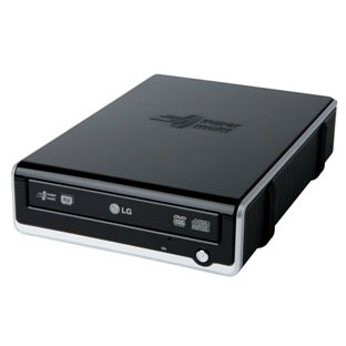 Lecteur graveur LG GSA-E40N LG GSA-E40N - DVD(+/-)RW/RAM 16/8/18/6/12x DL(+/-) 10/10x CD-RW 48/32/48x Noir Externe