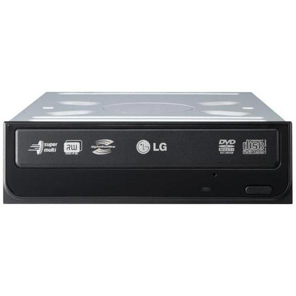 Lecteur graveur LG GSA-H42LRBB LG GSA-H42LRBB LightScribe - DVD(+/-)RW/RAM 18/8/18/6/12x DL(+/-) 10/10x CD-RW 48/32/48x IDE Noir (boîte)