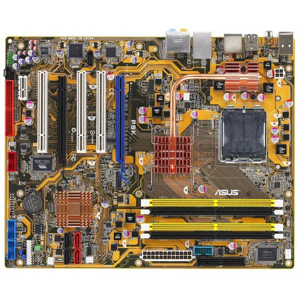 Carte mère ASUS P5K ASUS P5K (Intel P35 Express) - ATX - (garantie 3 ans)