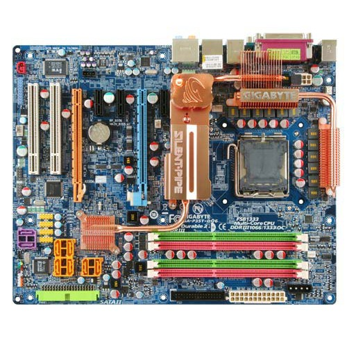 Carte mère Gigabyte GA-P35T-DQ6 Gigabyte GA-P35T-DQ6 (Intel P35 Express) - ATX