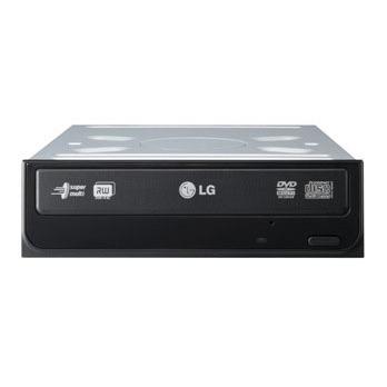 Lecteur graveur LG GSA-H55NRBB LG GSA-H55NRBB - DVD(+/-)RW/RAM 20/8/20/6/12x DL(+/-) 10/10x CD-RW 48/32/48x IDE Noir