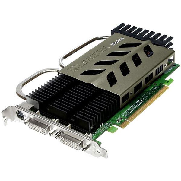 Carte graphique Leadtek WinFast PX8600 GT Heatpipe - 256 Mo Leadtek WinFast PX8600 GT Heatpipe - 256 Mo TV-Out/Dual DVI - PCI Express (NVIDIA GeForce 8600 GT)