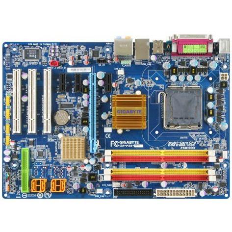Carte mère Gigabyte GA-P35-DS3L Gigabyte GA-P35-DS3L (Intel P35 Express) - ATX