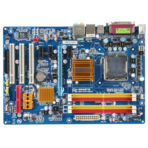 Carte mère Gigabyte GA-P31-DS3L Gigabyte GA-P31-DS3L (Intel P31 Express) - ATX