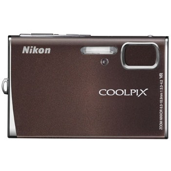 Appareil photo numérique Nikon Coolpix S51 Nikon Coolpix S51 (coloris chocolat)
