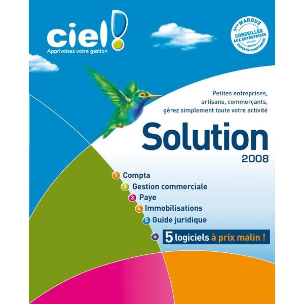 Logiciel comptabilité & gestion Ciel La Solution Multi Devis Bâtiment Ciel 2008 Ciel La Solution Multi Devis Bâtiment Ciel 2008 (français, WINDOWS)