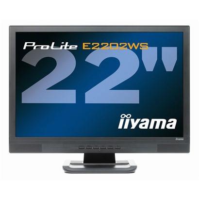 "Ecran PC iiyama ProLite E2202WS-B1 iiyama 22"" LCD - ProLite E2202WS-B1 - 5 ms - Format large 16:10"