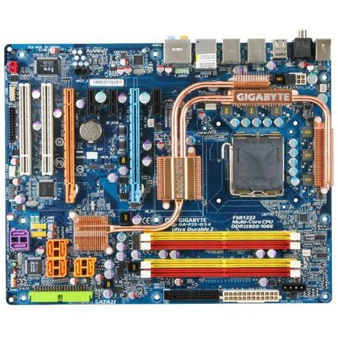 Carte mère Gigabyte GA-P35-DS4 Gigabyte GA-P35-DS4 (Intel P35 Express) - ATX
