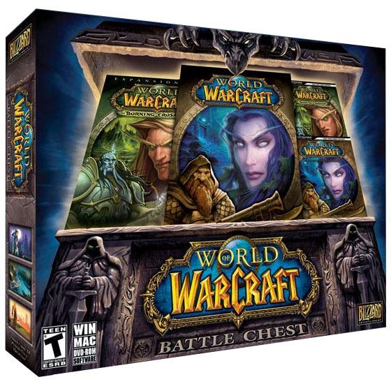 World of warcraft battle chest jeux pc blizzard entertainment sur - World of warcraft sur console ...
