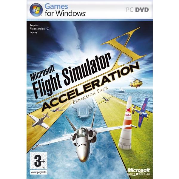 Jeux PC Flight Simulator X : Acceleration Flight Simulator X : Acceleration (PC) (Extension pour Flight Simulator X)