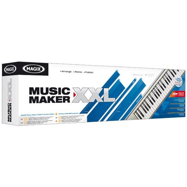 Logiciel musique & MP3 MAGIX Music Maker 2008 XXL MAGIX Music Maker 2008 XXL (français, WINDOWS)