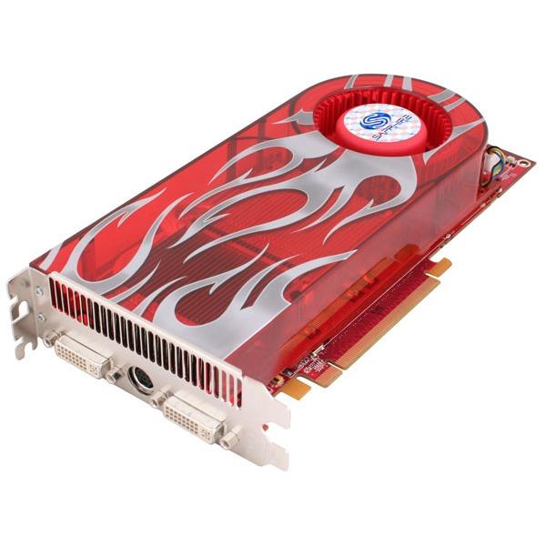 Carte graphique Sapphire HD 2900 GT 256 Mo Sapphire HD 2900 GT - 256 Mo TV-Out/Dual DVI - PCI Express (ATI Radeon HD 2900 GT)