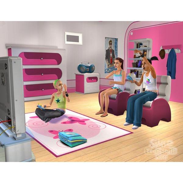 les sims 2 tout pour les ados pc jeux pc electronic arts sur. Black Bedroom Furniture Sets. Home Design Ideas