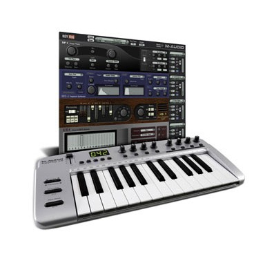 m audio keyrig 25 clavier home studio m audio sur. Black Bedroom Furniture Sets. Home Design Ideas