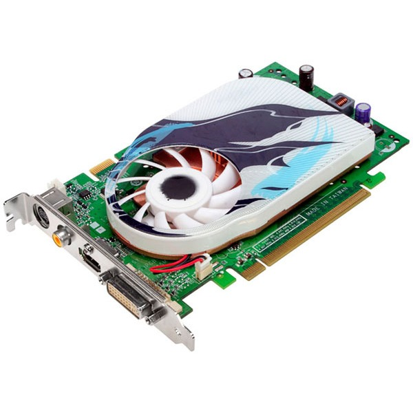 Carte graphique Leadtek WinFast PX8600 GT TDH HDMI Leadtek WinFast PX8600 GT TDH HDMI - 256 Mo TV-Out/DVI/HDMI - PCI Express (NVIDIA GeForce 8600 GT)