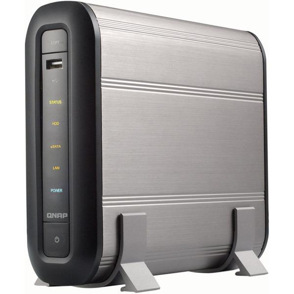 Serveur NAS QNAP TS-109 QNAP TS-109 - Serveur de stockage réseau 1 baie (sans disque dur)