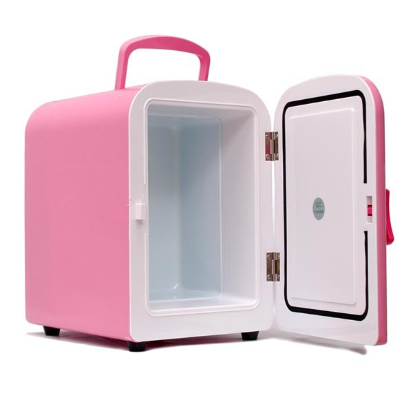 mini frigo usb 4 litres coloris rose goodies g n rique sur. Black Bedroom Furniture Sets. Home Design Ideas