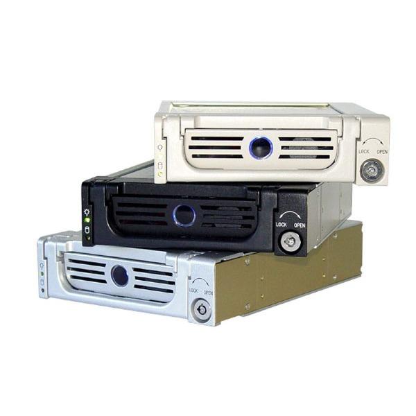 Rack HDD interne ICY BOX IB-138SK-B-II ICY BOX IB-138SK-B-II - Rack + tiroir pour disque dur Serial ATA (noir)