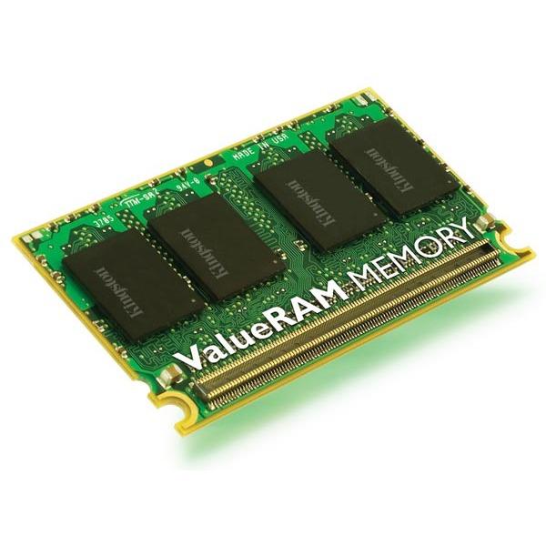 Mémoire PC portable Kingston KVR667D2U5/512 Kingston MicroDIMM 512 Mo DDR2-SDRAM PC5300 CL5 - KVR667D2U5/512 (garantie 10 ans par Kingston)
