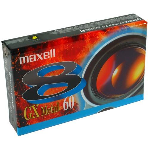 Cassette caméscope Maxell P5 GX 60 Maxell P5 GX 60 - Cassette 60 min