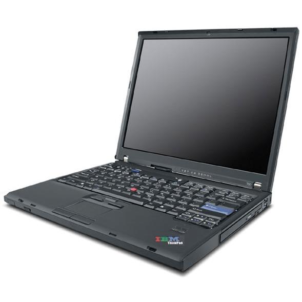 "PC portable Lenovo ThinkPad T61 Lenovo ThinkPad T61 - Intel Core 2 Duo T7250 1 Go 160 Go 15.4"" TFT Graveur DVD DL Wi-Fi G WXPP"