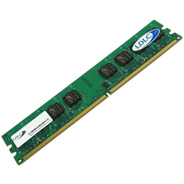 Mémoire PC LDLC 1 Go DDR2 800 MHz RAM DDR2 PC6400 (garantie 10 ans)