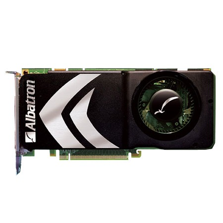 Carte graphique Albatron 8800GTS-512X Albatron GeForce 8800 GTS - 512 Mo TV-Out/Dual DVI - PCI Express (NVIDIA GeForce 8800 GTS) - (version bulk)