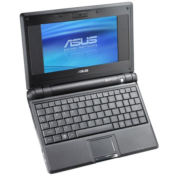 "LDLC.com ASUS Eee PC 4G Noir ASUS Eee PC 4G Noir - Intel Celeron M 512 Mo 4 Go 7"" TFT Wi-Fi G Webcam"