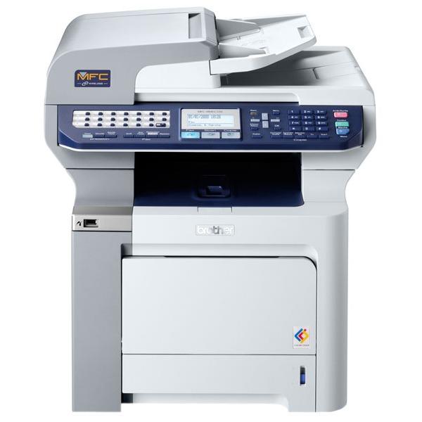 Imprimante multifonction Brother MFC-9840CDW Brother MFC-9840CDW - Imprimante Multifonction laser couleur 4-en-1 (USB 2.0 / Ethernet / Wi-Fi)