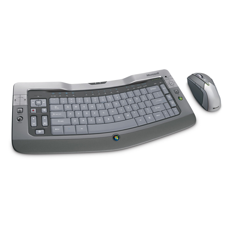 Pack clavier souris Microsoft Wireless Entertainment Desktop 8000 Microsoft Wireless Entertainment Desktop 8000 (AZERTY, français)