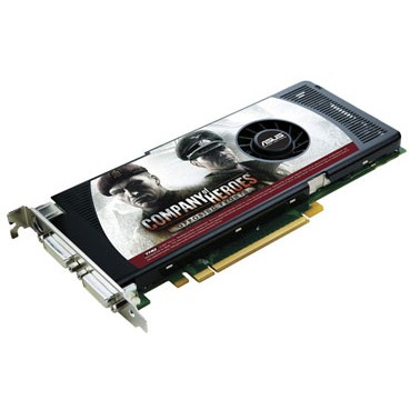 Carte graphique ASUS EN8800GT TOP/G/HTDP/512M ASUS EN8800GT TOP/G/HTDP/512M - 512 Mo TV-Out/Dual DVI - PCI Express (NVIDIA GeForce 8800 GT)