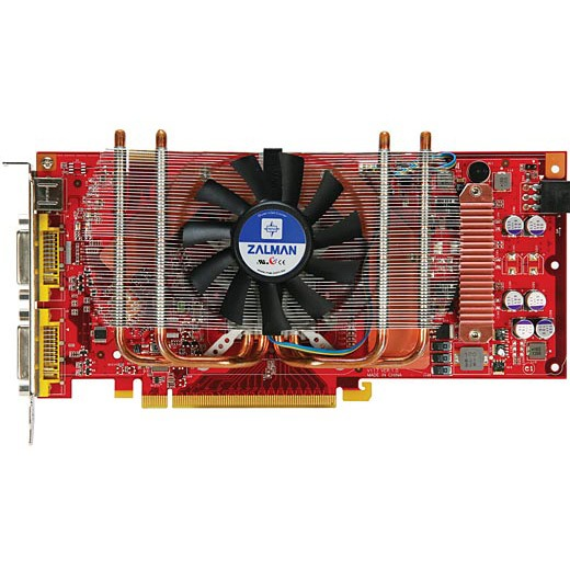 Carte graphique MSI NX8800GT Zilent 512 Mo MSI NX8800GT- Zilent - 512 Mo TV-Out/Dual DVI - PCI Express (NVIDIA GeForce 8800 GT)